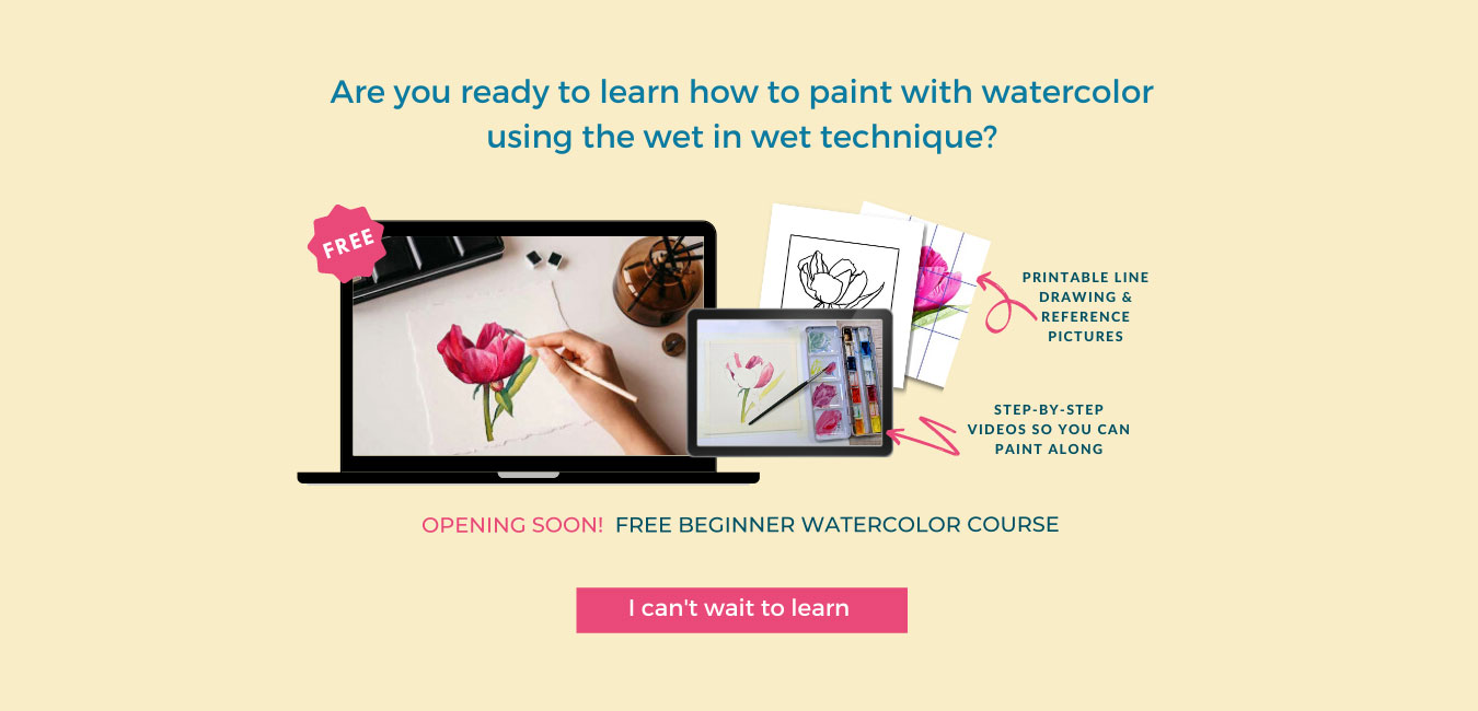 How to paint with watercolor online courses
